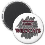 Benjamin Russell Wildcats - Alexander City, AL Refrigerator Magnet