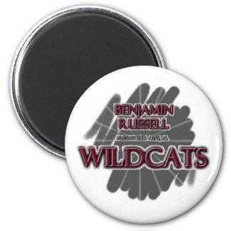 Benjamin Russell Wildcats - Alexander City AL Refrigerator Magnet