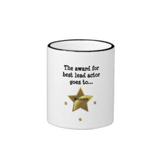 BENJAMIN The Award For Best Lead Actor Mugs