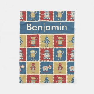 Benjamin's Personalized Robot Blanket