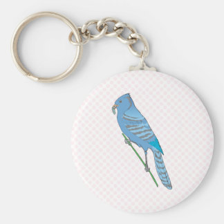 Benji Blue Jay Keychain