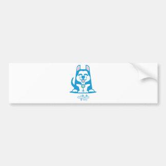 Benji Car Bumper Sticker
