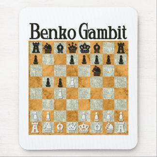 Benko Gambit Mouse Pad
