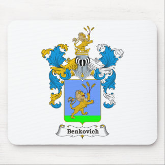 Benkovich Family Hungarian Coat of Arms Mouse Pad
