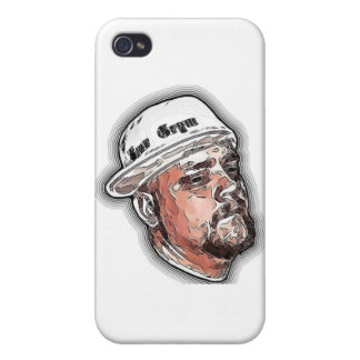 Benn Grym cartoon face iPhone 4 Case