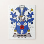 Benner Family Crest Puzzle