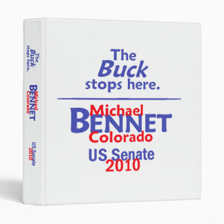 Bennet 2010 Senate Avery Binder