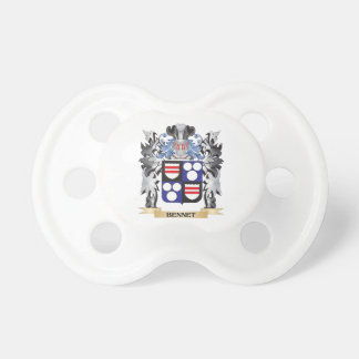 Bennet Coat of Arms - Family Crest BooginHead Pacifier