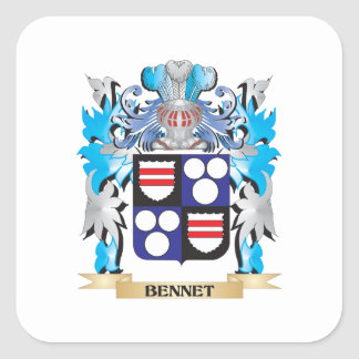 Bennet Coat of Arms Sticker