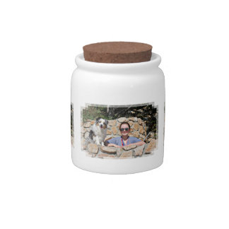 Bennett - Aussie Mini - Rosie - Carmel Beach Candy Jar
