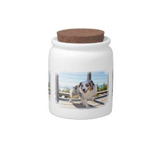 Bennett - Aussie Mini - Rosie - Carmel Beach Candy Jars