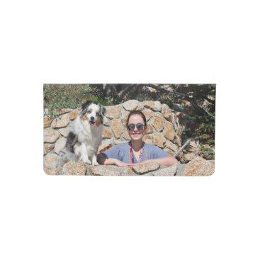 Beach Themed Bennett - Aussie Mini - Rosie - Carmel Beach Checkbook Cover