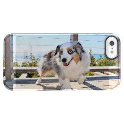 Uncommon iPhone 5/5s Permafrost® Deflector Case with Australian Shepherd Phone Cases design