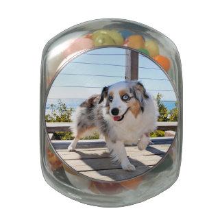Bennett - Aussie Mini - Rosie - Carmel Beach Glass Candy Jars