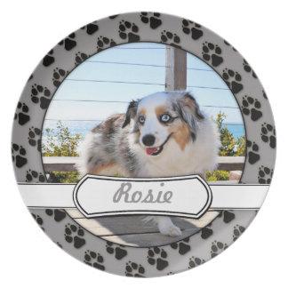 Bennett - Aussie Mini - Rosie - Carmel Beach Melamine Plate
