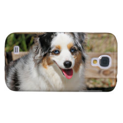 Case-Mate Barely There Samsung Galaxy S4 Case with Australian Shepherd Phone Cases design