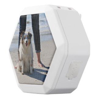 Bennett - Aussie Mini - Rosie - Carmel Beach White Bluetooth Speaker