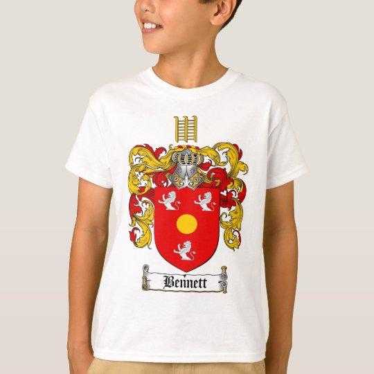 BENNETT FAMILY CREST -  BENNETT COAT OF ARMS T-Shirt