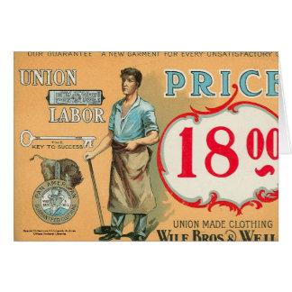 Bennett Labor Collection Card