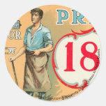 Bennett Labor Collection Round Stickers