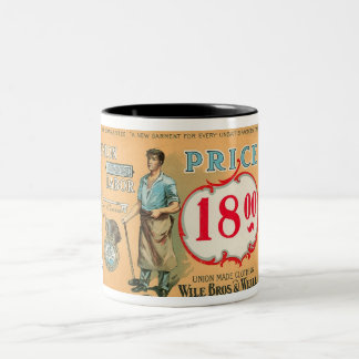 Bennett Labor Collection Two-Tone Coffee Mug