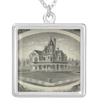Bennettand Son, Topeka Square Pendant Necklace