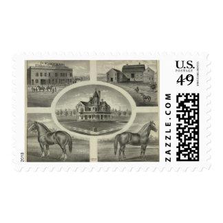 Bennettand Son, Topeka Stamp