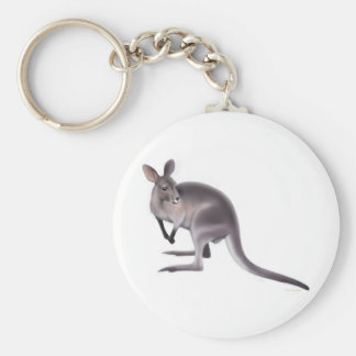 Bennetts Wallaby Keychain