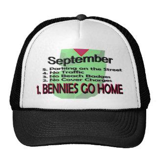 Bennies Go Home Hats
