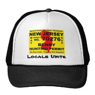 bennies, Locals Unite Mesh Hat