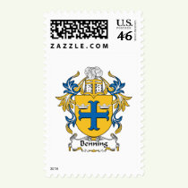 Benning Family Crest Stamps