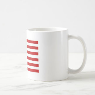 Bennington 76 Flag Classic White Coffee Mug