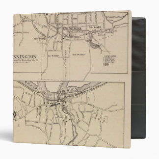 Bennington and Plan of Battleboro 3 Ring Binder