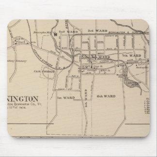 Bennington and Plan of Battleboro Mouse Pad