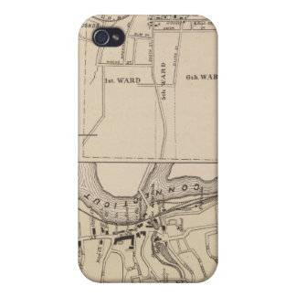 Bennington and Plan of Bleboro iPhone 4/4S Case