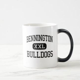 Bennington - Bulldogs - High - Bennington Kansas 11 Oz Magic Heat Color-Changing Coffee Mug