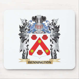 Bennington Coat of Arms - Family Crest Mouse Pad