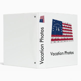 Bennington Flag Vinyl Binder