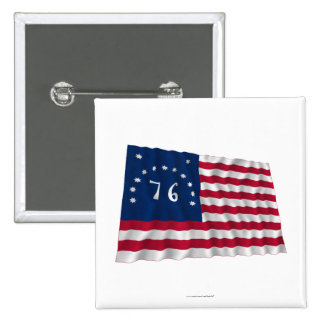 Bennington Flag Button