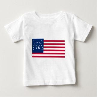 Bennington Flag from American Revolution Baby T-Shirt
