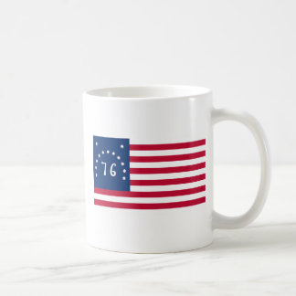 Bennington Flag Classic White Coffee Mug