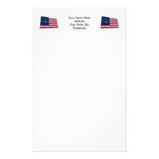 Bennington Flag Stationery