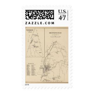 Bennington, Hillsborough Co Stamp