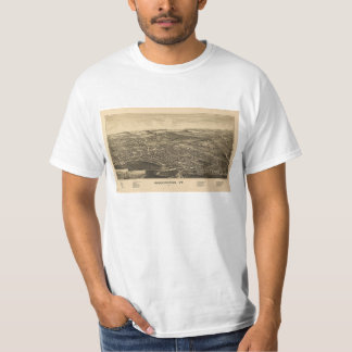 Bennington, VT Vintage Map T-Shirt