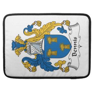 Bennis Family Crest MacBook Pro Sleeve