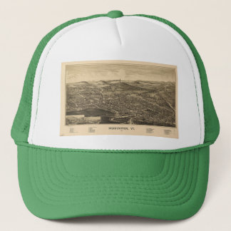 Bennngton, Vermont Historical Map Trucker Hat
