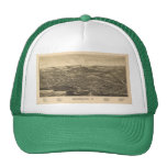 Bennngton, Vermont Historical Map Trucker Hat