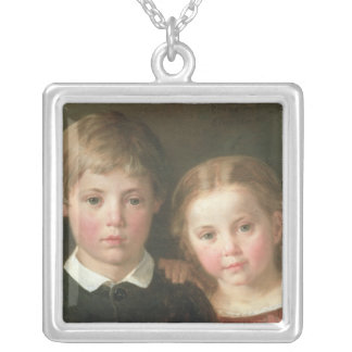 Benno six years and Elna, four years, 1864 Jewelry