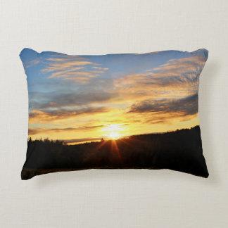 Bennoch Road Sunrise Decorative Pillow