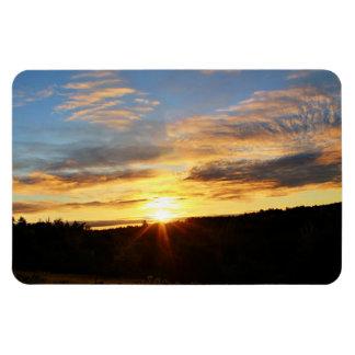 Bennoch Road Sunrise Magnet